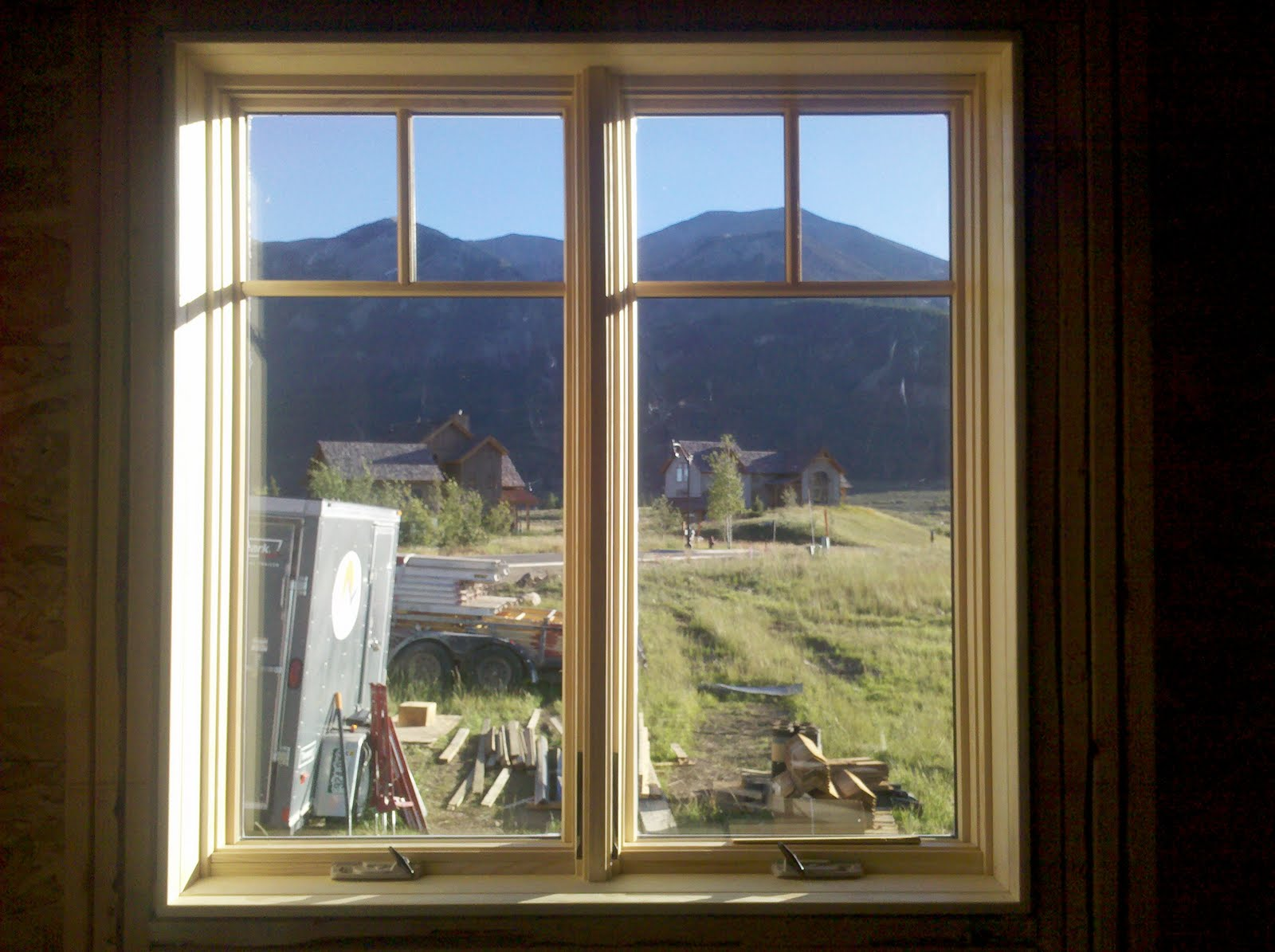 The Weyls In Crested Butte Windows Gardens Sept 3