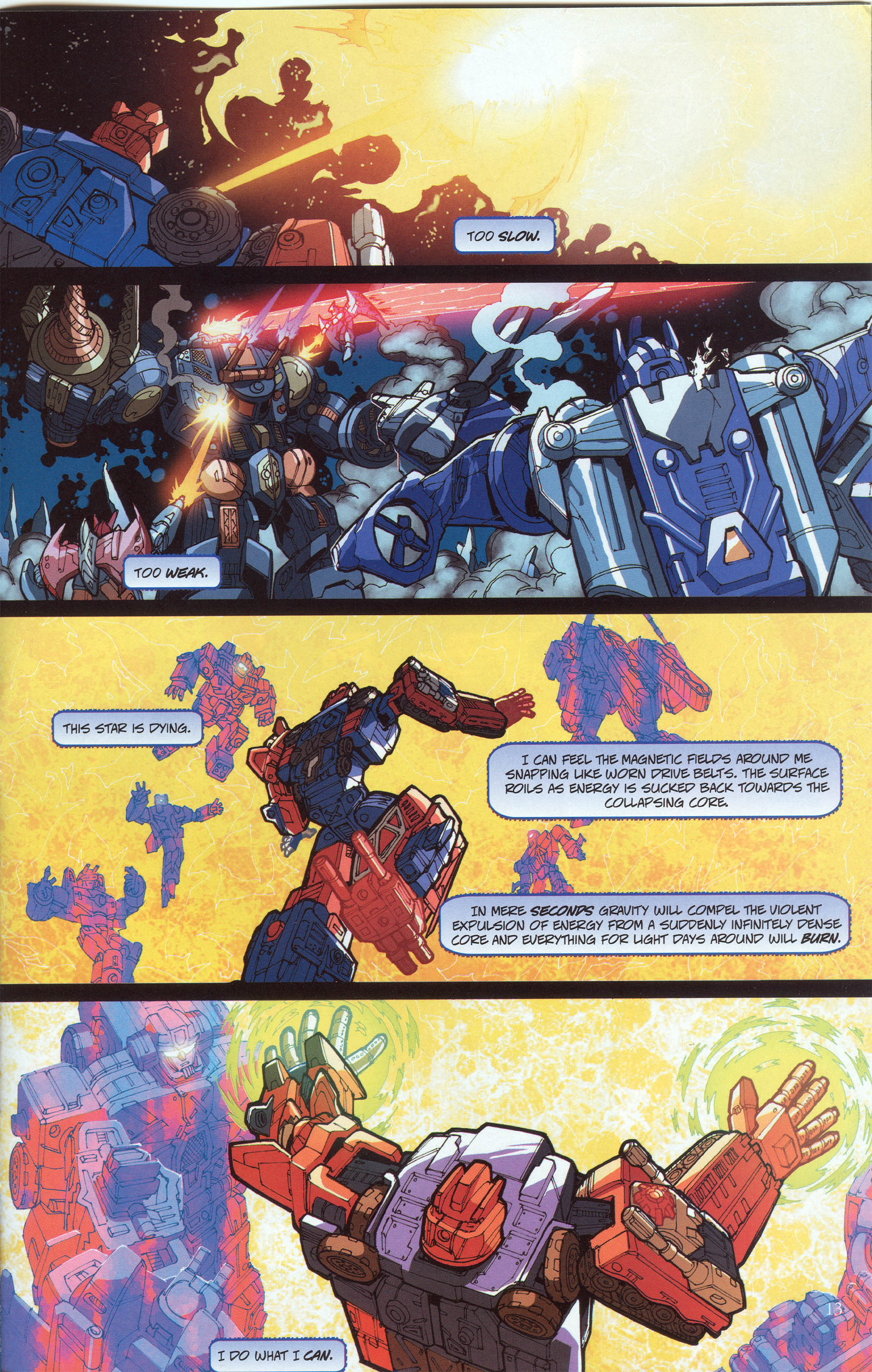 Read online Transformers: Collectors' Club comic -  Issue #30 - 13