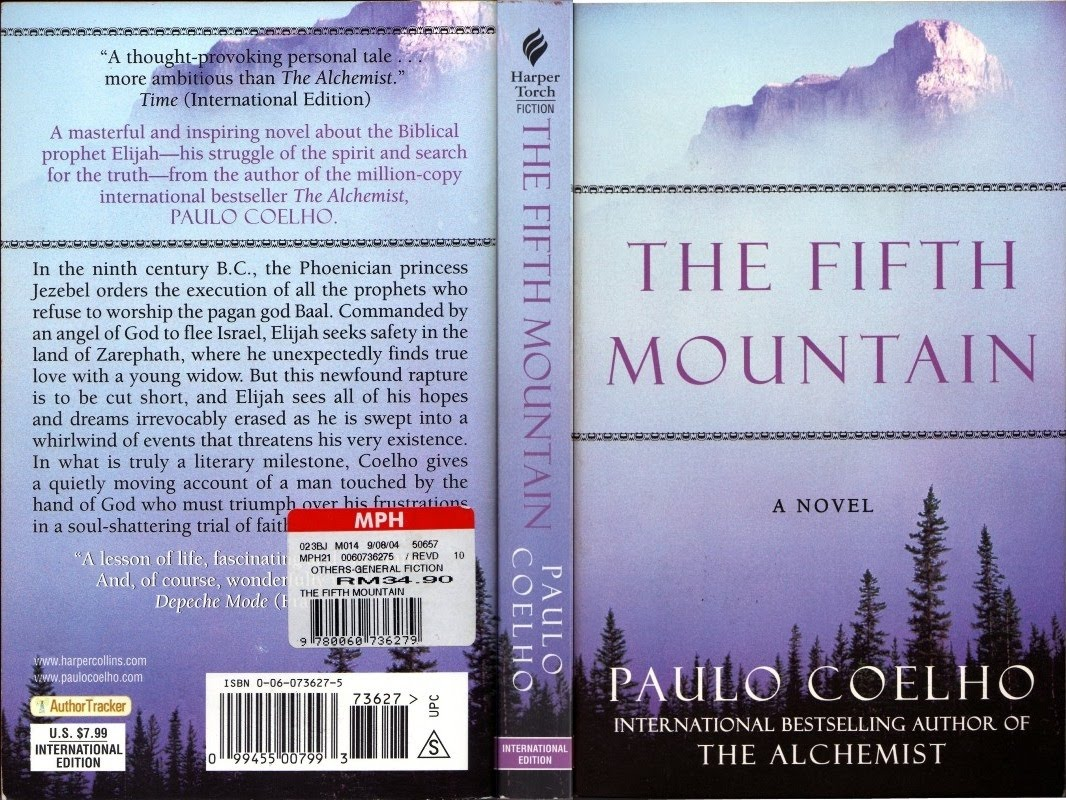 springy jottings the fifth mountain by paulo coelho the fifth mountain by paulo coelho