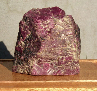 i buzzabout the world s largest ruby crystal gemstone