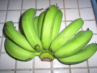 Green Fig (Banana) Pie