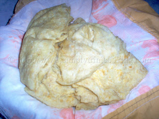 Buss up Shut (Paratha Roti)
