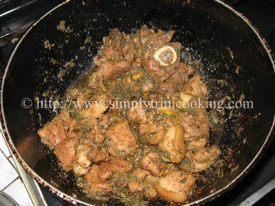 Trinidad Garlic Pork