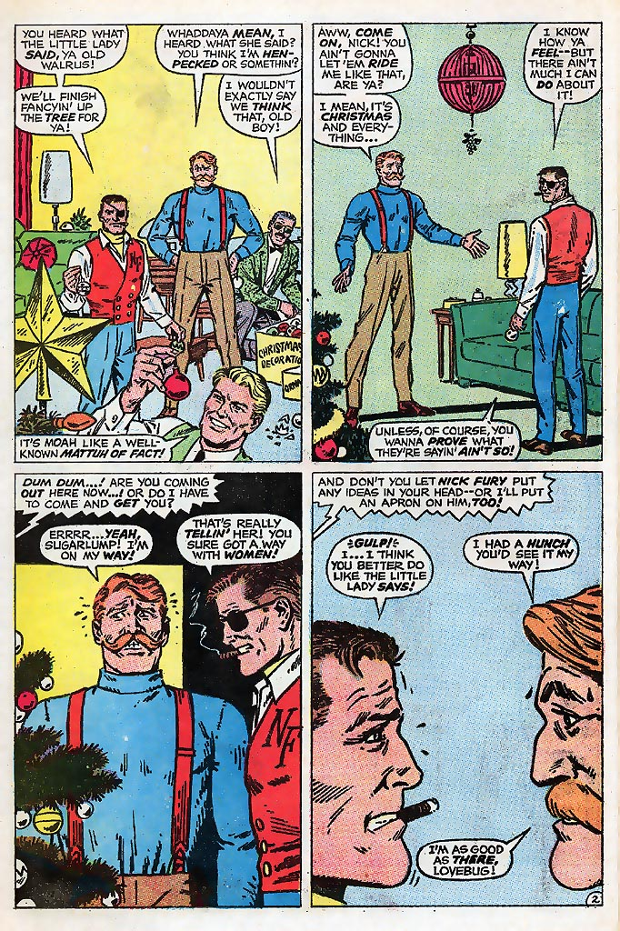 Read online Sgt. Fury comic -  Issue # _Special 4 - 4