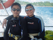 Diving Trip with my son.