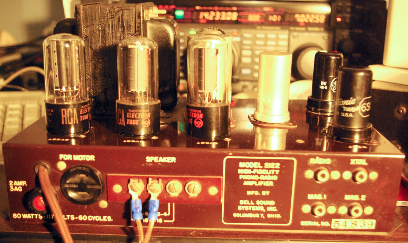 Wheels Wings And Radio Things Bell Classic 6v6 Tube Amp