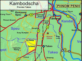 Takeo District Cambodia