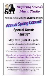 May 29th - Inspiring Sounds Concert