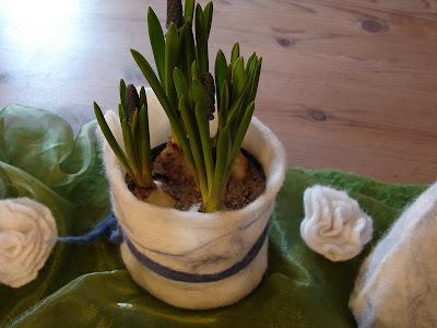 Filz Und Garten Gartenblog Tischdeko Im Januar