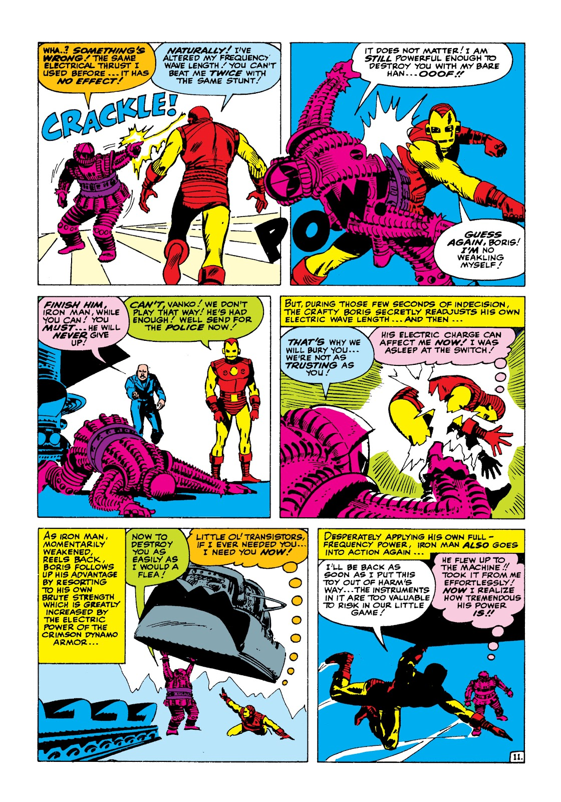Read online Marvel Masterworks: The Invincible Iron Man comic -  Issue # TPB 2 (Part 1) - 28
