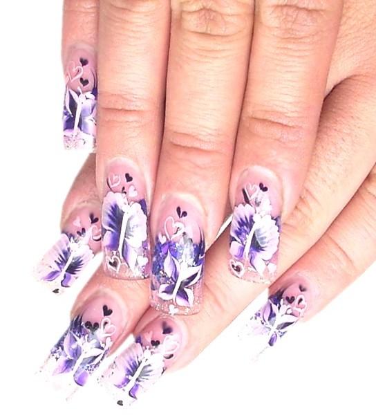 Nail Art Designs 2011: Fashion And Art Trend: Nail Art Fashion