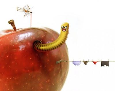 Να ένα μήλο