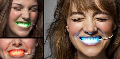 LED φώτα για το στόμα σας