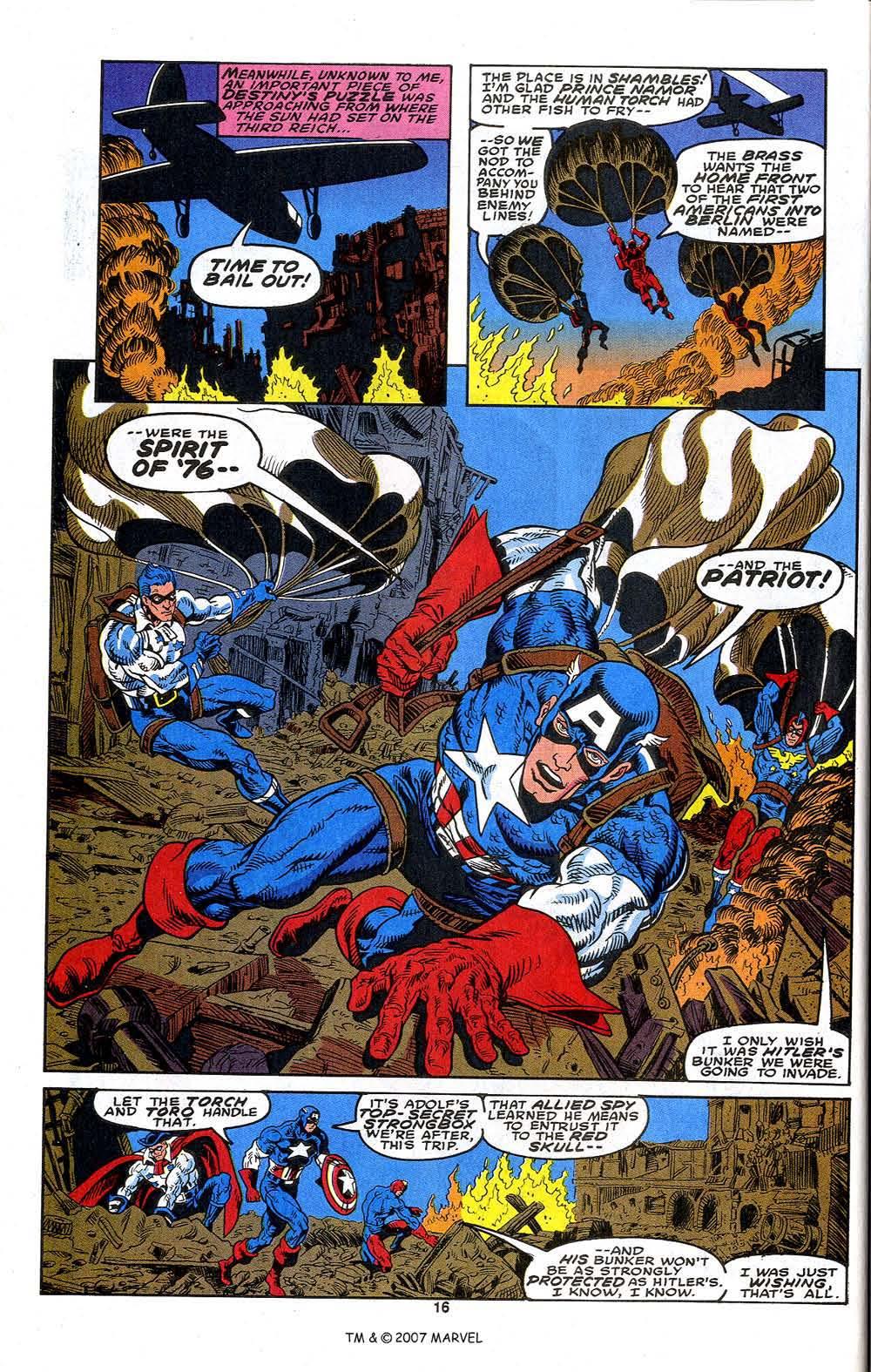 Read online Captain America (1968) comic -  Issue # _Annual 13 - 18