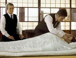 Movies That Make You Think 99 Japanese Director Yojiro Takita S Okuribito Departures 2008 Amazing Grace Of Handling Dead Bodies