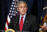 bush signs controversial budget bill