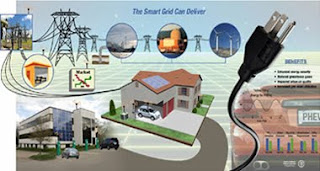 obama announces stimulus funding for the 'smart grid'