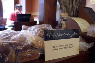 'pay what you want' at new non-profit panera