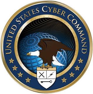 crack the code in cybercom's logo