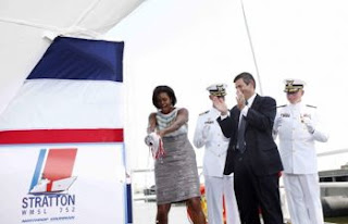 first lady: gulf seafood 'safe to eat'