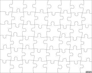 Puzzle Template Free. blank jigsaw puzzle templates make your own ...