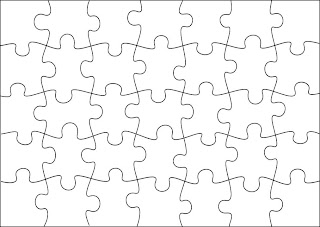 Jigsaw Template. best photos of make a jigsaw puzzle template ...