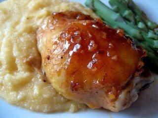 Mustard Cranberry Glazed Chicken