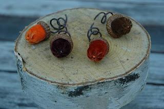 Velvet Acorns from Heather Donohue