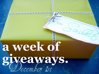 A Week of Giveaways