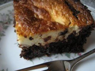 Black Bottomed Cake