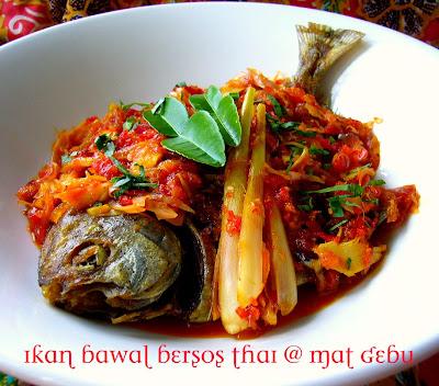 Ikan Bawal Bersos Thai