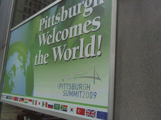 Pittsburgh welcomes you on the ocassion of G-20 summit