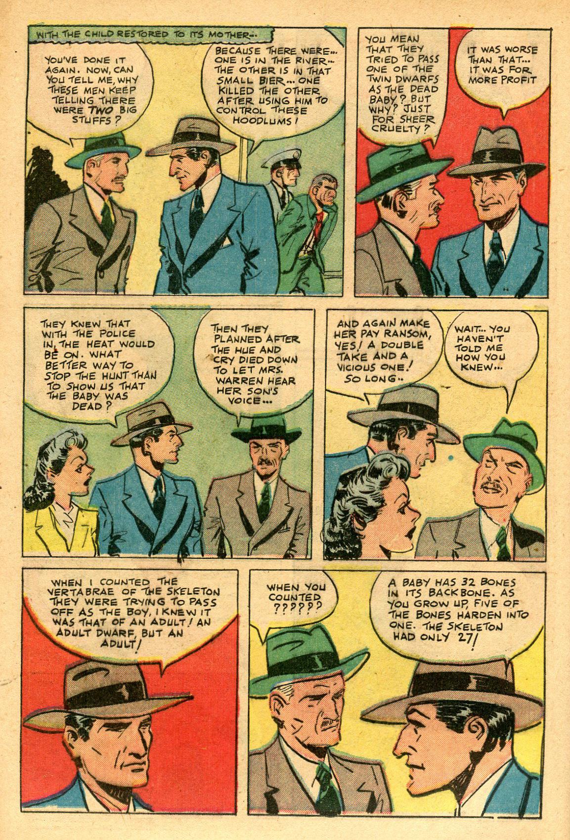 Read online Shadow Comics comic -  Issue #69 - 16