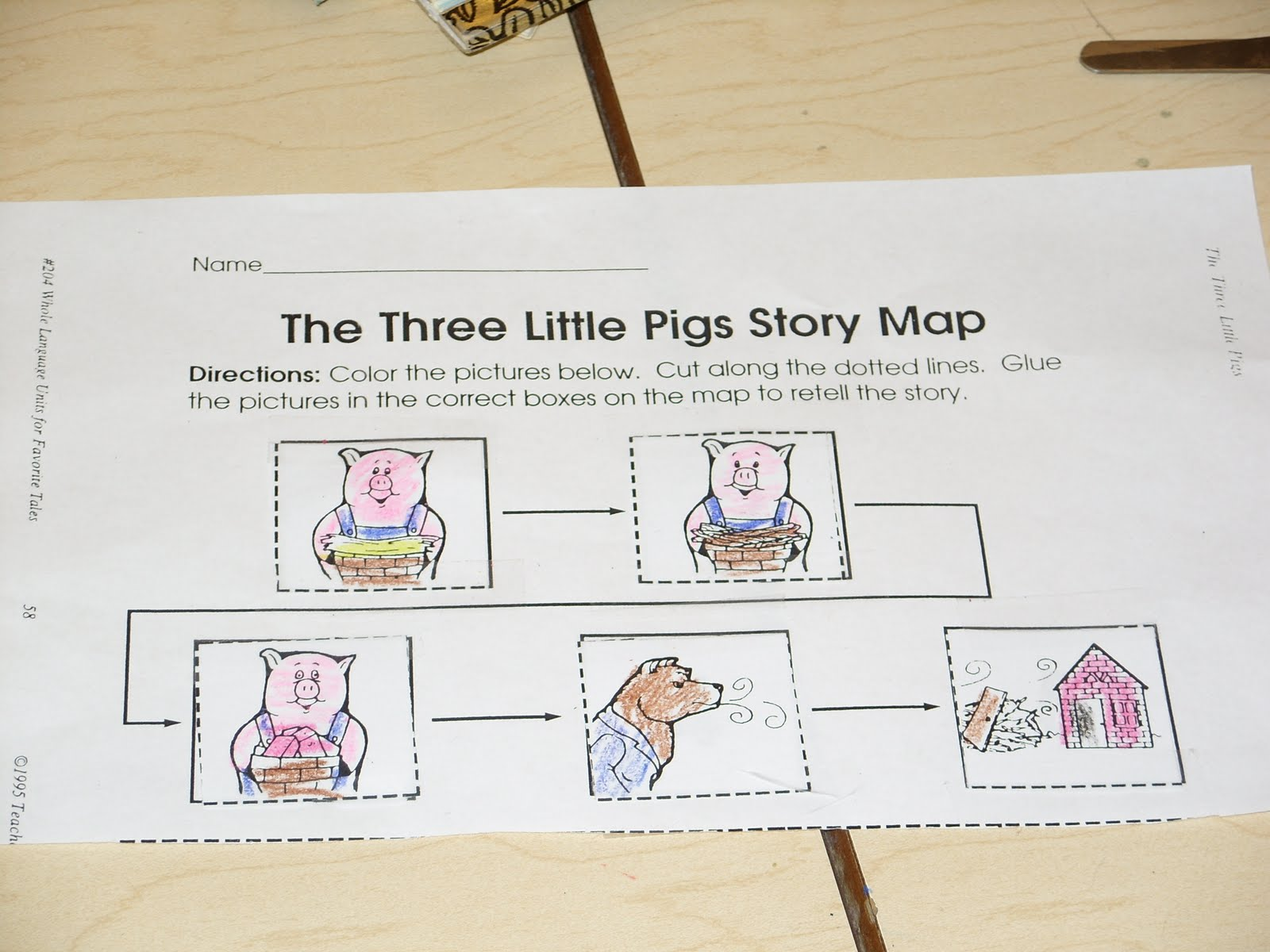 Put Your Whole Self In: The Three Little Pigs