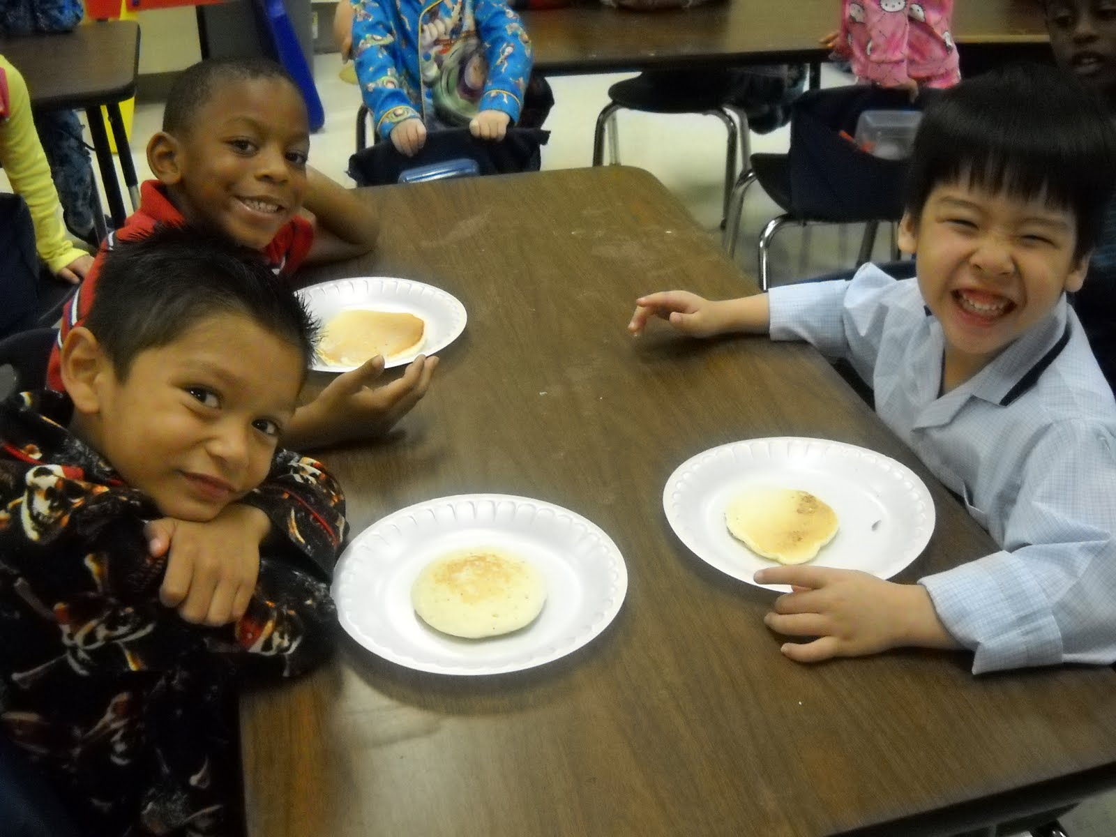 Kinder Garden: Mrs. Wood's Kindergarten Class: Pancakes