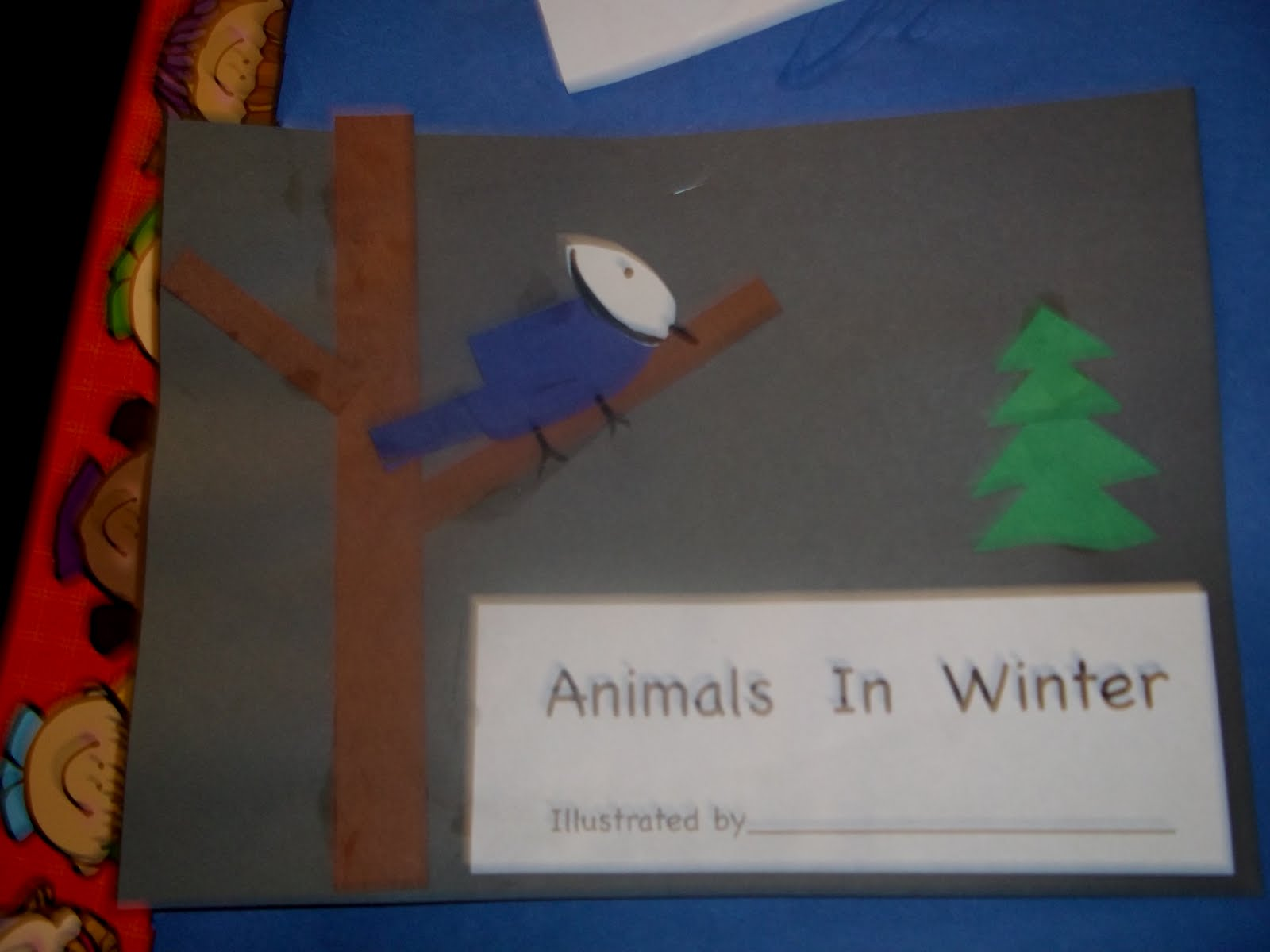Mrs Wood S Kindergarten Class Animals In Winter