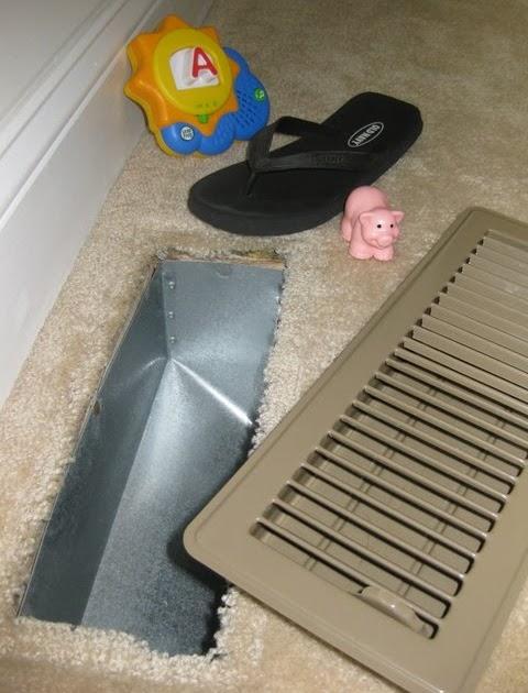 Digicrumbs New Adventures In Baby Proofing Metal Floor Vents