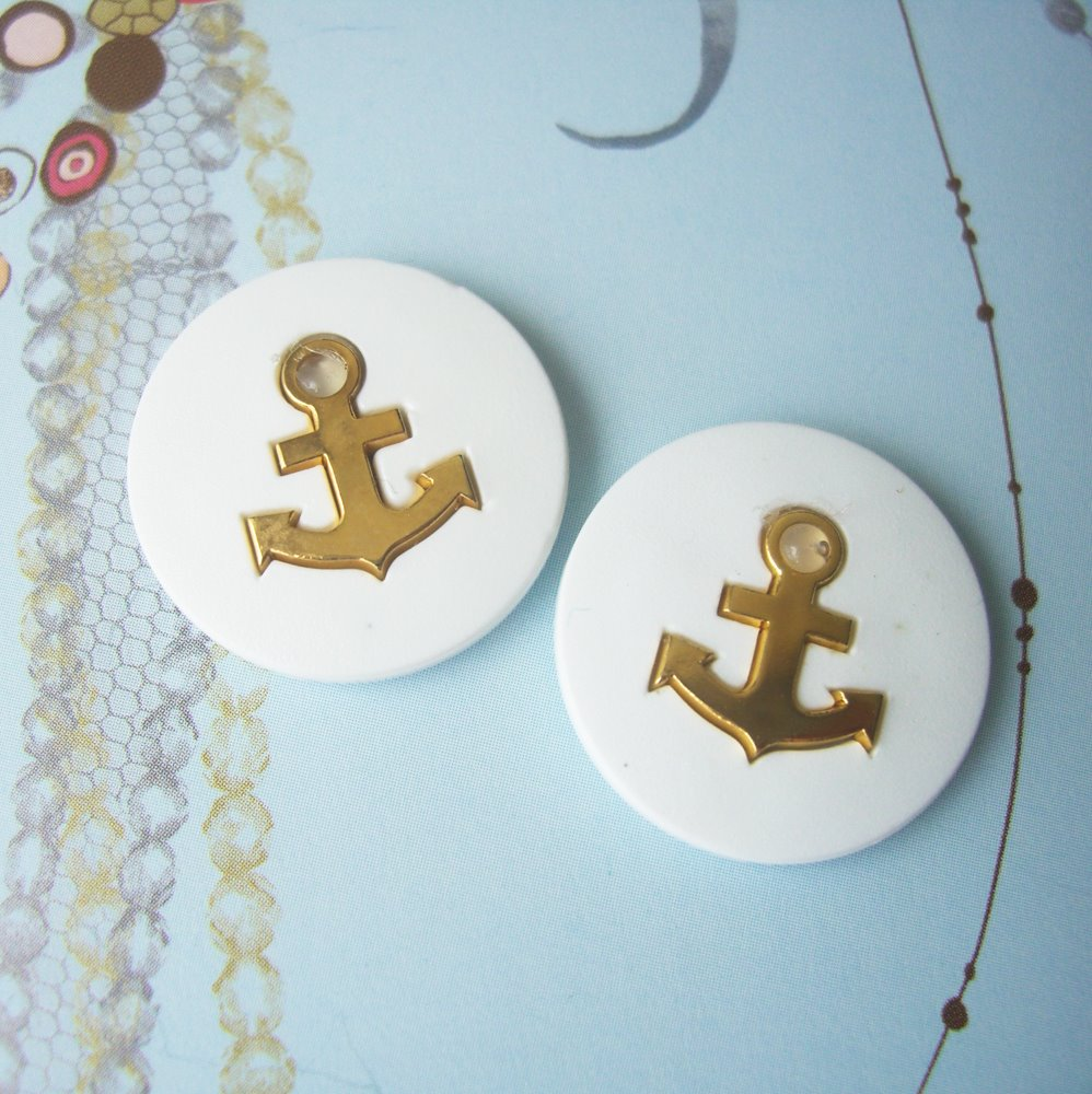 quirky nautical earrings