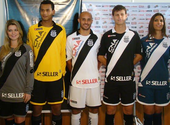 df268f0dce Um dos Clubes de Futebol mais antigos do Brasil apresentou novos uniformes  nessa semana. A italiana Lotto segue fornecendo o material esportivo  utilizado ...