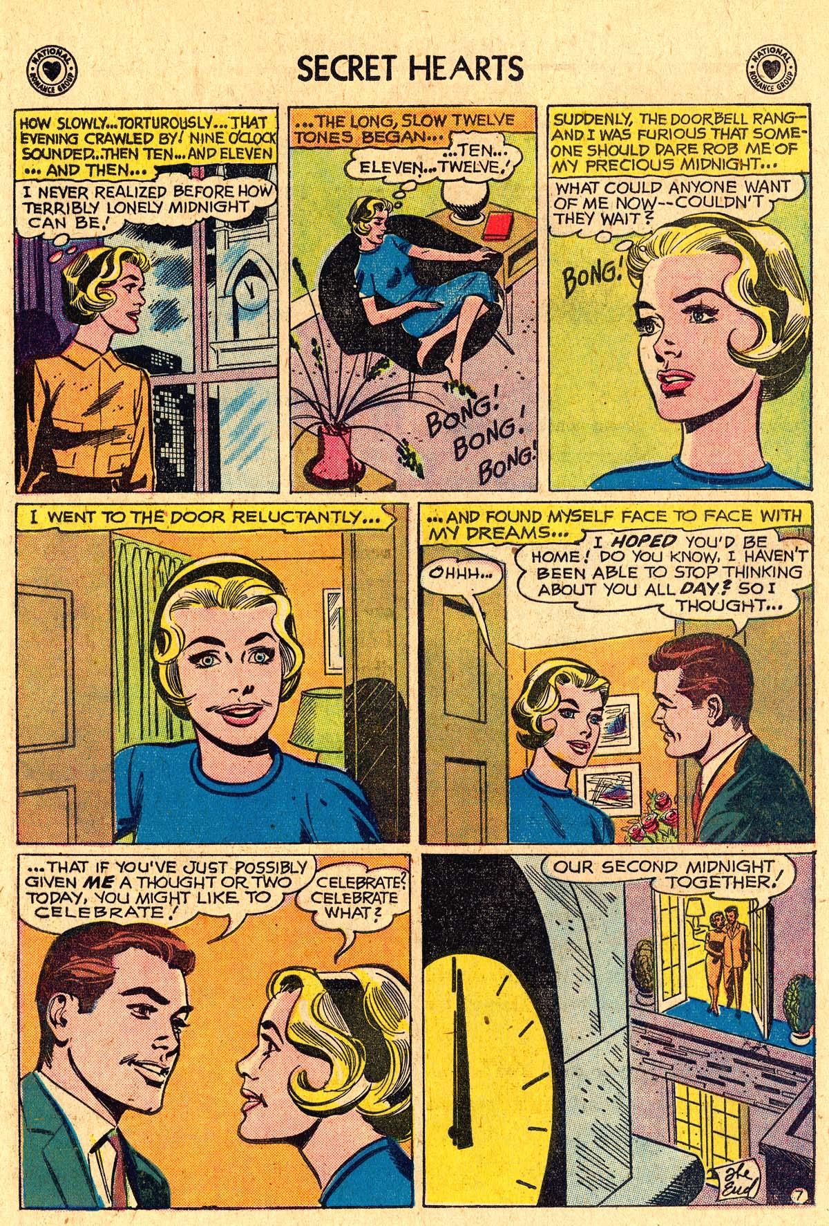 Read online Secret Hearts comic -  Issue #60 - 24