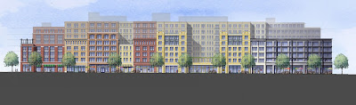 Rappaport apartments and retail for lease on H Street, DC