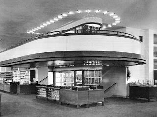 Almacenes Schocken Mendelshon Stuttgart Interior