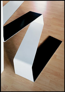 Escalera de acero de diseño