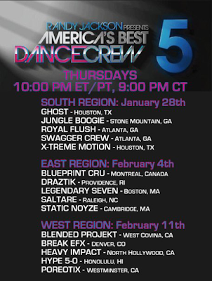 Fifteen Crews Began The Season With Hopes Of Competing For ABDC Title Two Eliminated From Each Regionals We Had Nine