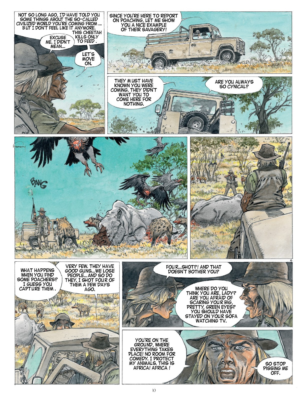 Read online Afrika comic -  Issue # TPB - 10