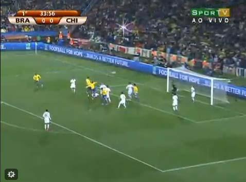 Copa 2010 - Análise de Brasil 3 x 0 Chile