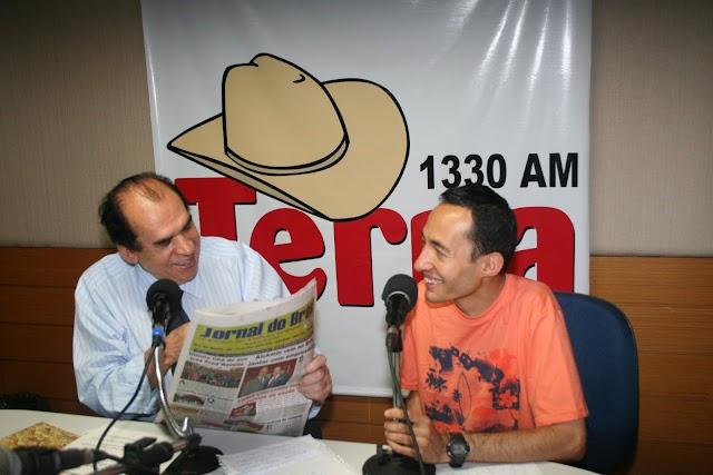 Jornal do Brás na Rádio Terra AM IV