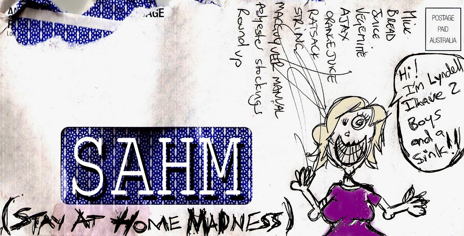 SAHM (Stay At Home Madness)