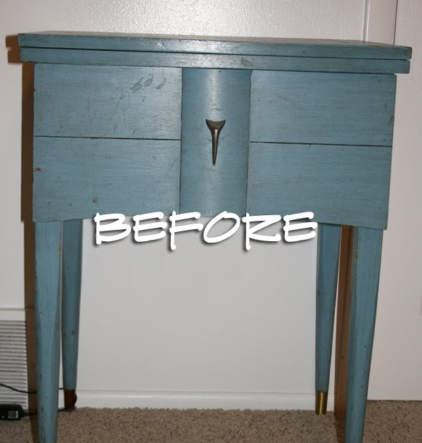 The How To Gal Sewing Table To Changing Table