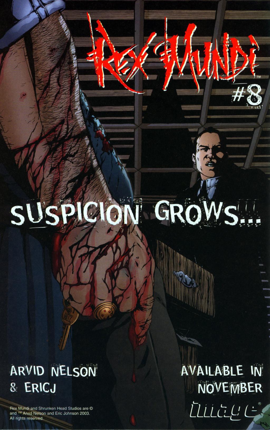 Read online Rex Mundi comic -  Issue #7 - 32